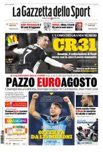 La Gazzetta dello Sport Roma – 16 giugno 2020