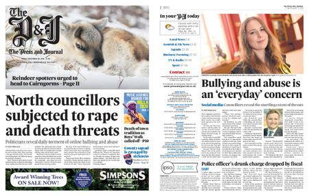 The Press and Journal Moray – December 20, 2019