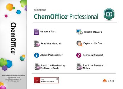 PerkinElmer ChemOffice Professional 17.1
