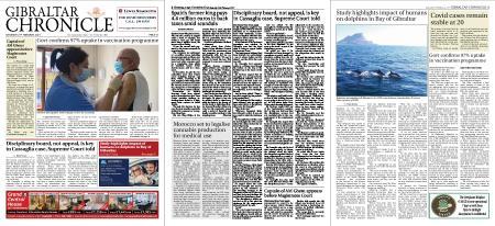 Gibraltar Chronicle – 27 February 2021