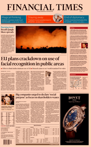 Financial Times Europe – 23 August 2019