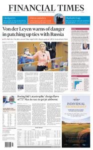 Financial Times Europe - September 17, 2020