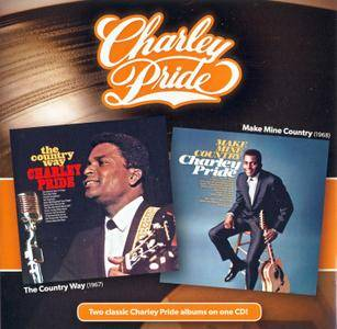 Charley Pride - The Country Way (1967) + Make Mine Country (1968) {2014 Music City Records Remaster}