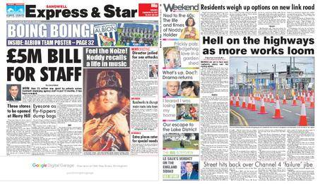 Express and Star Sandwell Edition – September 16, 2017