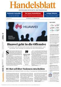 Handelsblatt - 20. Februar 2019