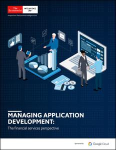 The Economist (Intelligence Unit) - Managing Application Development: The financial services perspective (2019)