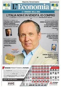 Corriere della Sera Economia - 3 Settembre 2018