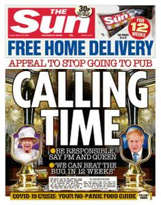 The Sun UK - 20 March 2020