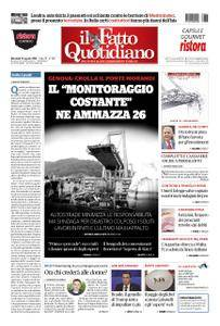 Il Fatto Quotidiano - 15 agosto 2018
