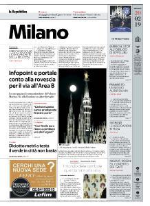 la Repubblica Milano - 20 Febbraio 2019