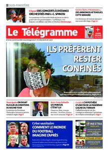 Le Télégramme Ouest Cornouaille – 25 mai 2020