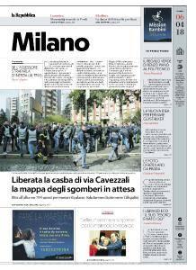 la Repubblica Milano - 6 Aprile 2018