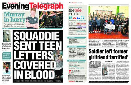 Evening Telegraph First Edition – February 01, 2018