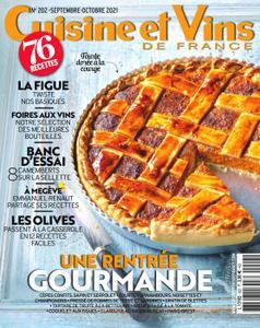 Cuisine et Vins de France - septembre 2021