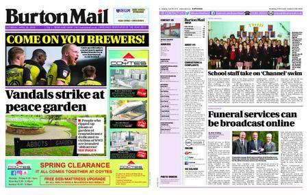 Burton Mail – April 28, 2018