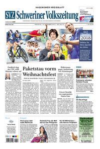 Schweriner Volkszeitung Hagenower Kreisblatt - 18. Dezember 2018