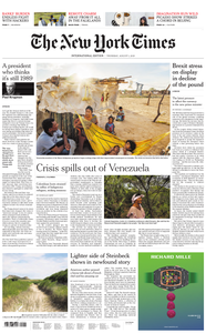 International New York Times - 01 August 2019