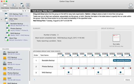 Carbon Copy Cloner  5.1.9 Multilingual macOS