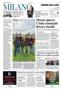 Corriere della Sera Milano – 01 febbraio 2019