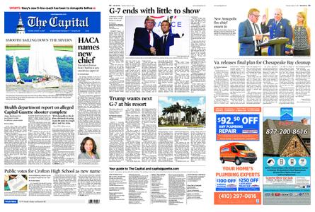 The Capital – August 27, 2019