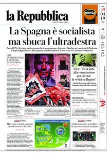 la Repubblica – 29 aprile 2019