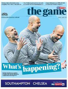 The Times - The Game - 9 April 2018