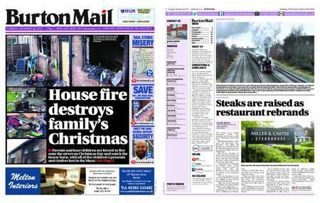 Burton Mail – December 28, 2017