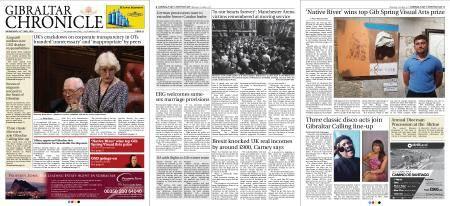 Gibraltar Chronicle – 23 May 2018