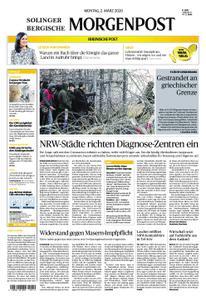 Solinger Morgenpost – 02. März 2020