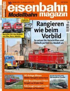 Eisenbahn Magazin - Oktober 2016