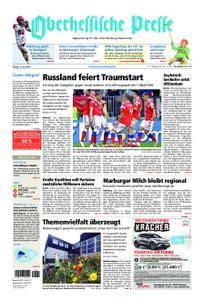 Oberhessische Presse Marburg/Ostkreis - 15. Juni 2018