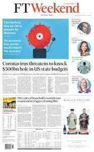 Financial Times Europe - April 18, 2020