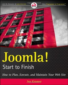 """Jen Kramer, """"Joomla! Start to Finish: How to Plan, Execute, and Maintain Your Web Site""""  (Repost)"""