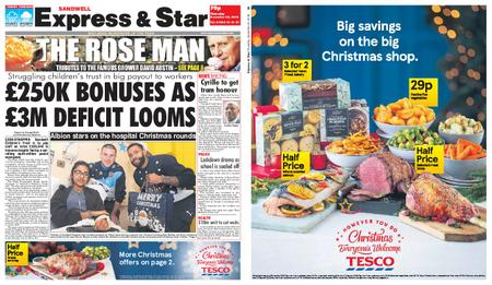 Express and Star Sandwell Edition – December 20, 2018