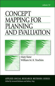 Concept Mapping for Planning and Evaluation (Applied Social Research Methods)