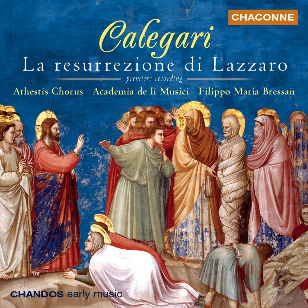 Antonio Calegari - La resurrezione di Lazzaro