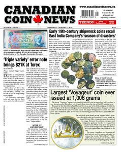 Canadian Coin News – November 06, 2018
