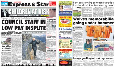 Express and Star Sandwell Edition – April 30, 2019