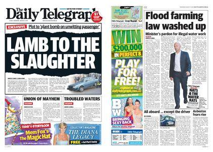 The Daily Telegraph (Sydney) – August 03, 2017