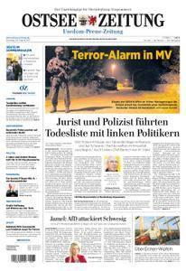 Ostsee Zeitung Wolgast - 29. August 2017
