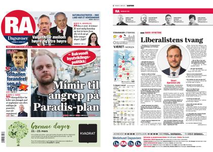 Rogalands Avis – 21. mars 2019