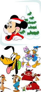 Stock Vectors - Disney Cartoons