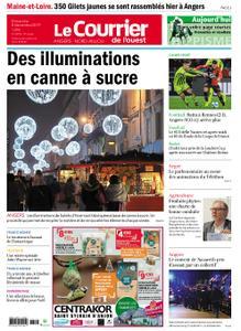 Le Courrier de l'Ouest Nord Anjou – 08 décembre 2019