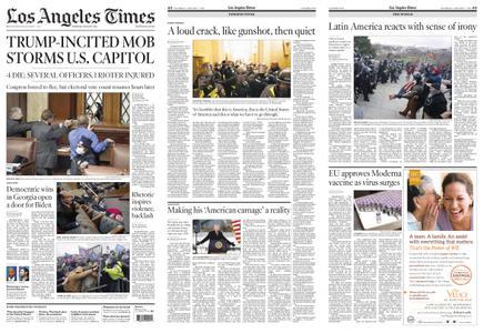 Los Angeles Times – January 07, 2021