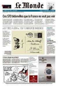 Le Monde du Vendredi 20 Octobre 2017