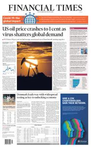 Financial Times Europe - April 21, 2020