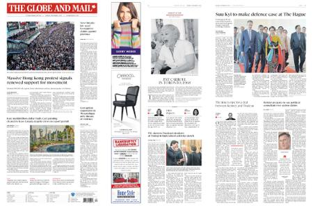 The Globe and Mail – December 09, 2019