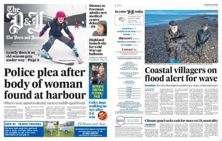 The Press and Journal Moray – December 09, 2019