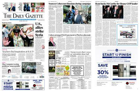 The Daily Gazette – April 14, 2018