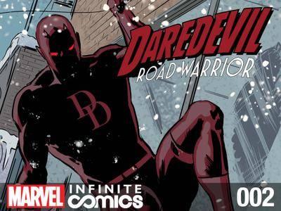Daredevil - Road Warrior Infinite Comic 002 2014  2 covers digital
